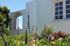 Secretchill Garden view to house