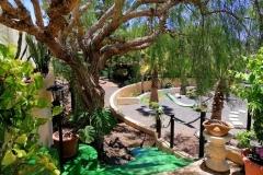 Secretchill view to garden
