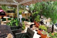 Secretchill in Tias - view to garden