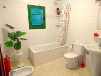 Holiday Villa in Playa Blanca bathroom